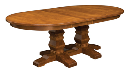 Amish Furniture In Fashionable 28'' Pedestal Dining Tables (View 10 of 25)