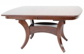 Amish Originals With Regard To Best And Newest Leonila 48'' Trestle Dining Tables (View 7 of 25)