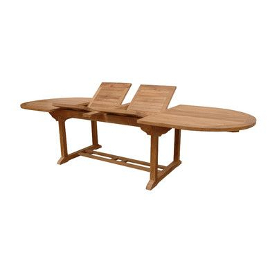 Anderson Teak Bahama Oval Extension Dining Table With Intended For Most Current Adsila 24'' Dining Tables (View 4 of 25)