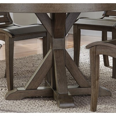 Andrelle Bar Height Pedestal Dining Tables Intended For Well Known August Grove Carolyn Counter Height Dining Table Base (View 16 of 25)