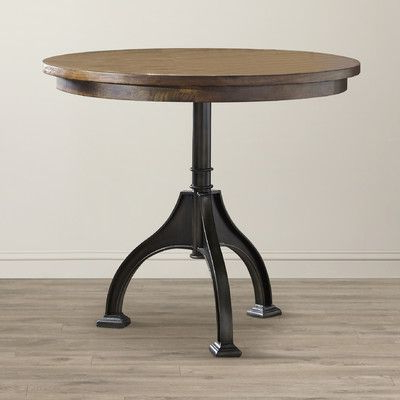 Andreniki Bar Height Pedestal Dining Tables In 2020 Birch Lane Grover Counter Height Table Base & Reviews (View 15 of 25)