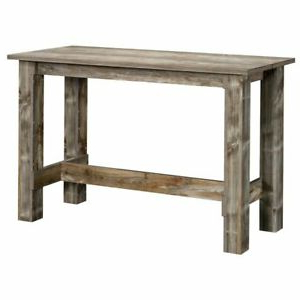 Andrenique Bar Height Dining Tables Regarding Most Popular Sauder Boone Mountain Counter Height Wood Dining Table In (View 20 of 25)