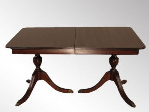 Antique Dining Table & Chairs – Edmonton Furniture For With Well Known Hetton 38'' Dining Tables (View 8 of 25)