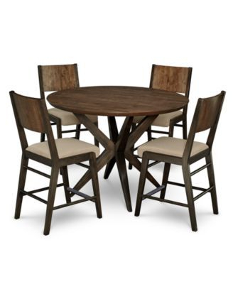 Ashton Round Pedestal Pub Dining Furniture, 5 Pc (View 19 of 25)