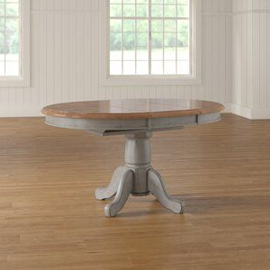 August Grove Wonderly Pedestal Extendable Dining Table With Regard To Well Known Dawna Pedestal Dining Tables (View 17 of 25)