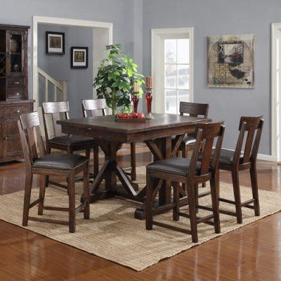 Featured Photo of Babbie Butterfly Leaf Pine Solid Wood Trestle Dining Tables