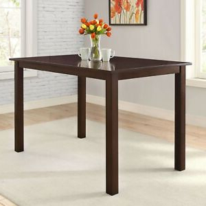 Bankston Counter Height Dining Table (mocha) (View 9 of 25)