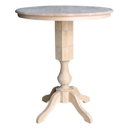 Bar Height Table, Round Bar Table, Pedestal Dining Within Bar Height Pedestal Dining Tables (View 12 of 25)