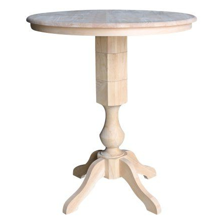 Bar Height Table, Round Bar Table, Pedestal Dining Within Widely Used Counter Height Pedestal Dining Tables (View 23 of 25)
