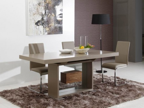 Baring 35'' Dining Tables Regarding Newest Levi Contemporary Rectangle Dining Table (View 16 of 25)