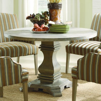 Barra Bar Height Pedestal Dining Tables In Fashionable Kelly Clarkson Home Thorold Extendable Dining Table (View 15 of 25)