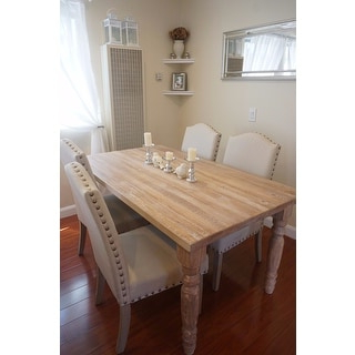 Bekasi 63'' Dining Tables With Most Current Grain Wood Furniture Valerie 63 Inch Solid Wood Dining (View 5 of 25)