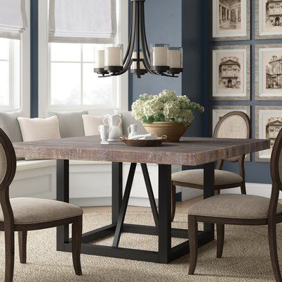 Bekasi 63'' Dining Tables With Well Known Laurel Foundry Modern Farmhouse Kailey Dining Table (View 16 of 25)
