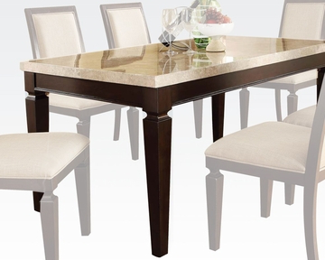 Best And Newest Acme Traditional Dining Table Agatha Ac70480 With Classic Dining Tables (View 7 of 25)