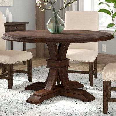 Best And Newest Bineau 35'' Pedestal Dining Tables Within Three Posts Derwent Extendable Dining Table (View 13 of 25)