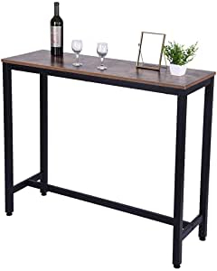 Best And Newest Dawid Counter Height Pedestal Dining Tables Intended For Household Pub Table Counter Height Dining Multi Function (View 19 of 25)