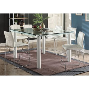 Best And Newest Dawid Counter Height Pedestal Dining Tables With Atwood Counter Height Dining Table Set (View 8 of 25)