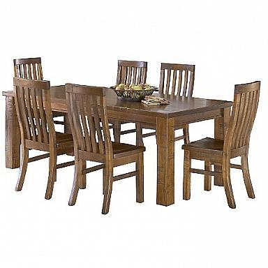 Best And Newest Marlins Furniture: Outback Dining Table 30.5h 82.75w (View 12 of 25)