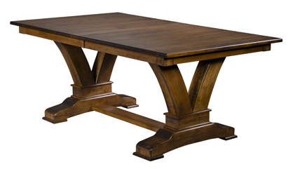 Best And Newest Vincent Trestle Dining Table Pertaining To Trestle Dining Tables (View 5 of 25)