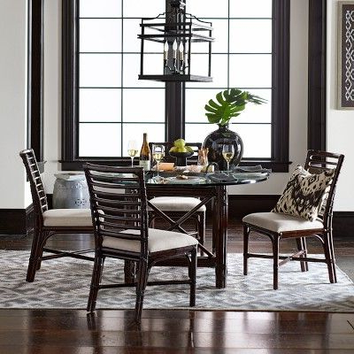 Black Round Dining Table In Desiree (View 19 of 25)