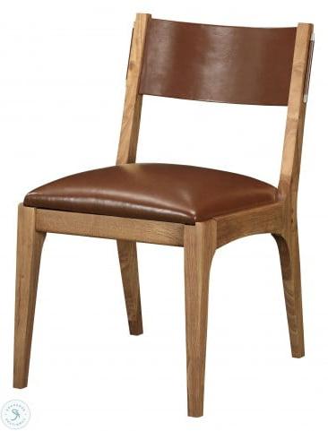 Bobby Berk Walnut Jens Side Chair Set Of 2 From Bobby Berk Intended For Widely Used Bobby Berk Trestle Dining Tables (View 18 of 25)