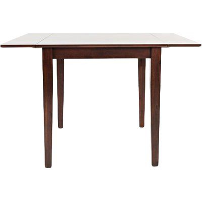 Bradly Extendable Solid Wood Dining Tables Within Well Known Dunster Extendable Drop Leaf Solid Wood Dining Table (View 7 of 25)