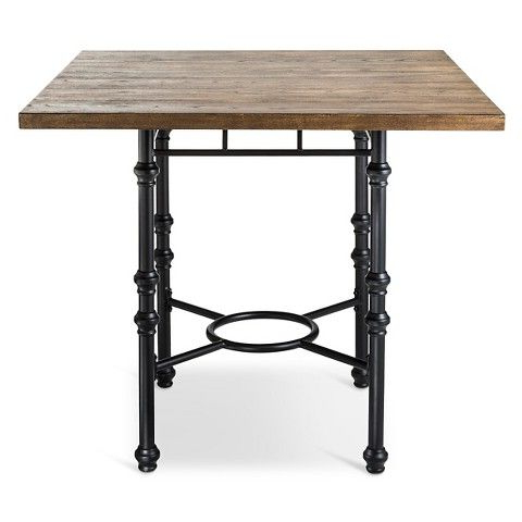 Bralton Counter Height Dining Table Wood/brown – The Inside Newest Desloge Counter Height Trestle Dining Tables (View 25 of 25)