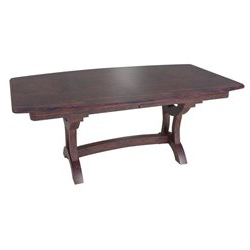 Bridgeport Double Pedestal 6 Foot Dining Table Inside 2020 Gaspard Extendable Maple Solid Wood Pedestal Dining Tables (View 23 of 25)