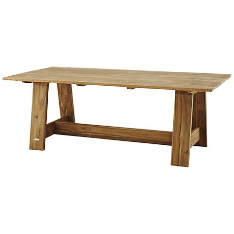 Buy John Lewis Java Reclaimed Teak 8 Seater Outdoor Dining Inside Most Current 49'' Dining Tables (View 3 of 25)