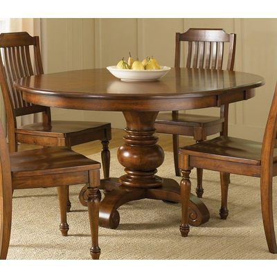 Featured Photo of Corvena 48'' Pedestal Dining Tables