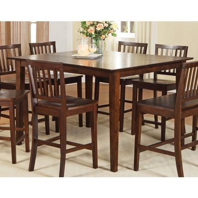 Buy Steve Silver Branson 54x42 Counter Height Table In Intended For Preferred Counter Height Extendable Dining Tables (View 3 of 25)