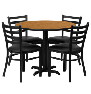 Cafeteria Breakroom Round Dining Table Sets Restaurant With Regard To Popular Round Breakroom Tables And Chair Set (View 25 of 25)