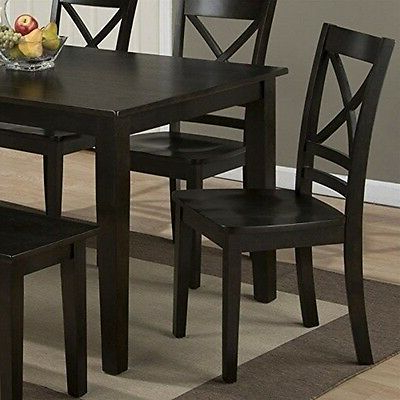 Cainsville 32'' Dining Tables Inside Preferred Jofran 552 60 Simplicity Espresso Rectangle Dining Table (View 17 of 25)