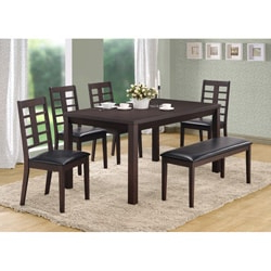 Cappuccino Veneer 36 X 60 Inch Dining Table – Overstock With 2020 Hitchin 36'' Dining Tables (View 17 of 25)