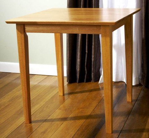 Carey Square Dining Table – 30x30 Inches Maple (no Chairs Regarding Most Recent Keown 43'' Solid Wood Dining Tables (View 15 of 25)