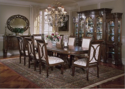 Classic Dining Room Designs From Aico Furniture With Regard To Famous Classic Dining Tables (View 20 of 25)