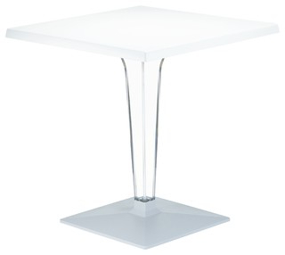 """Compamia Ice Square Dining Table, 23.6"""" – Contemporary Regarding Trendy Crilly (View 15 of 25)"""