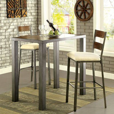 Corrigan Studio Fawridge Dining Tables In Most Up To Date Red Barrel Studio Thurman 3 Piece Dining Set (View 11 of 25)