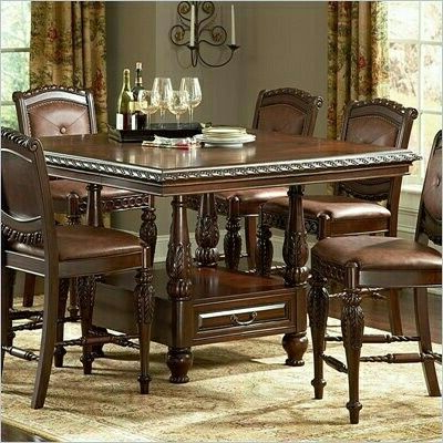 Counter Height Dining Tables In Latest Pinimran Malik On Dinning Room &hall (View 9 of 25)