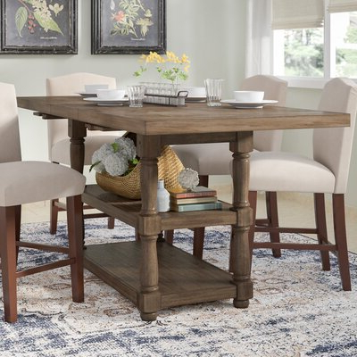 Counter Height Dining Tables Regarding Current Counter Height Storage Kitchen & Dining Tables You'll Love (View 18 of 25)