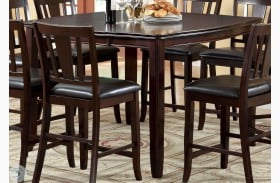 Counter Height Extendable Dining Tables For Popular Edgewood Ii Espresso Square Extendable Counter Height (View 11 of 25)