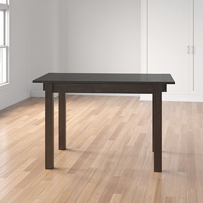 Counter Height Extendable Dining Tables With Regard To 2020 Lolington Counter Height Extendable Rubber Solid Wood (View 5 of 25)