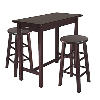 Counter Height Pub Table Set > Alqurumresort With Regard To Best And Newest Nakano Counter Height Pedestal Dining Tables (View 11 of 25)