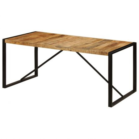 Featured Photo of Alfie Mango Solid Wood Dining Tables