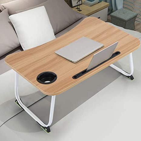 Current Amazon: Simple Lap Desk,23.6 Inch Wrinting Table Within Grimaldo (View 10 of 25)