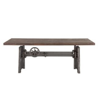Current Aulbrey Butterfly Leaf Teak Solid Wood Trestle Dining Tables For Overstock: Online Shopping – Bedding, Furniture (View 3 of 19)