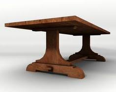 Current Kara Trestle Dining Tables In Tressel Table (View 17 of 25)