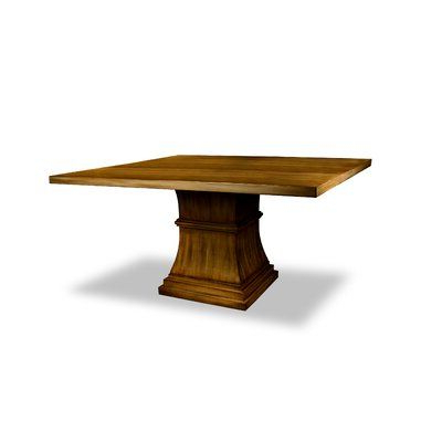 Current Katarina Extendable Rubberwood Solid Wood Dining Tables With Regard To Gracie Oaks Pascarella Poplar Solid Wood Dining Table (View 24 of 25)