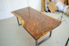 Current Live Edge Dining Table – Claro Walnut (item #30) For Belton Dining Tables (View 15 of 25)