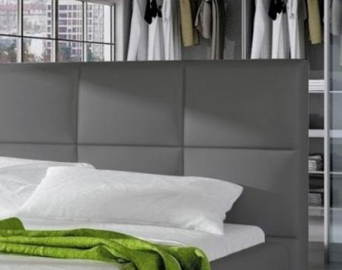 """Current Mode 72"""" L Breakroom Tables With Lit Capitonné Avec Sommier Relevable Simili Gris Louka (View 25 of 25)"""